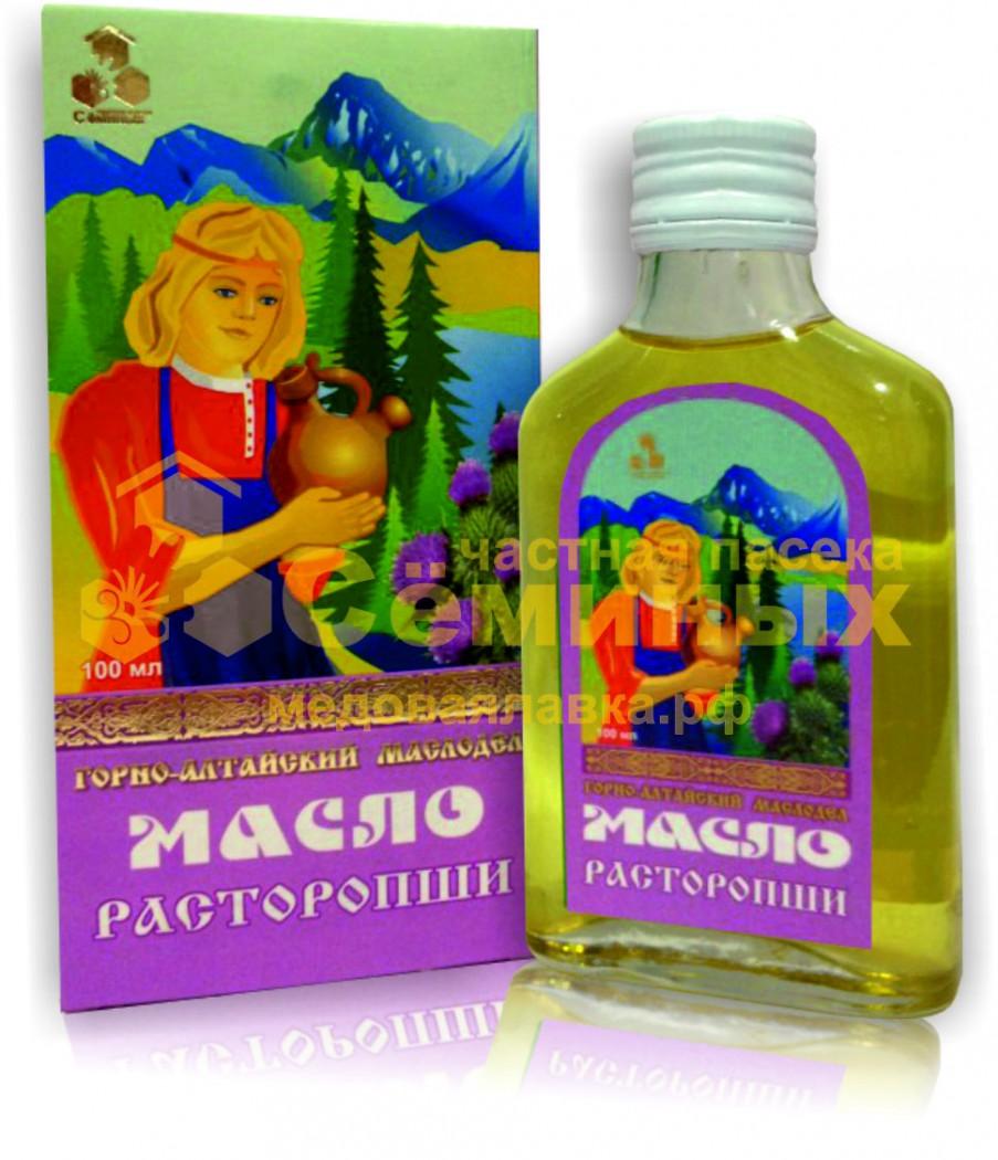 масло расторопши от паразитов